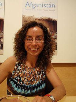 La periodista española Mónica Bernabé