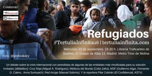 La Tertulia Infinita 16 - Refugiados