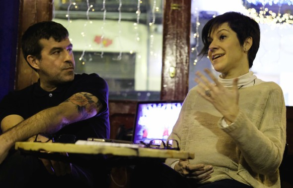 Ferrán Quevedo y Yolanda Álvarez. Foto: Jon Bradburn.